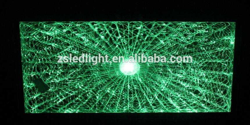 Eclairage Fibre Optique Plafond Excellent Vue Duensemble De La