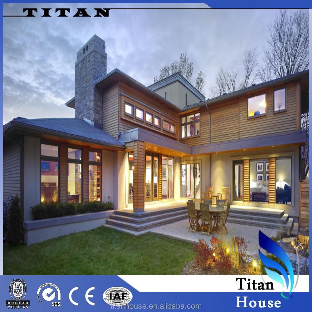 Risparmio energetico modulare prefabbricato di lusso casa - Prefabbricato casa ...