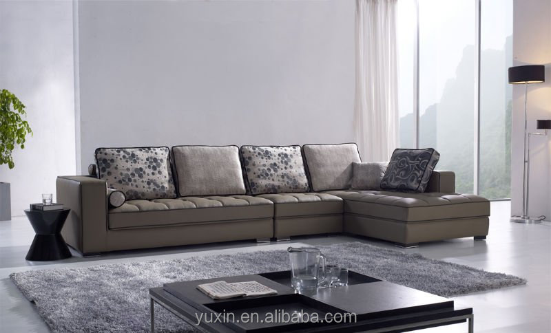 High Quality Popular Design Leather Sofa Set Living Room Sofa China Furniture