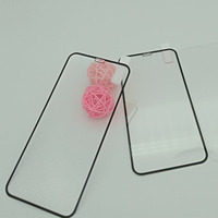 Custom size 9H 3D coverage roll thin glass screen protector mobile phone film 6.1`5.8`6.5` XR,XS,XS Max for iPhone
