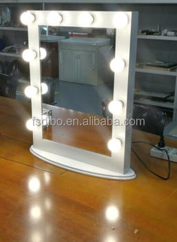 Fashion Beauty Salon Makeup Hollywood Vanity Mirror With Lights