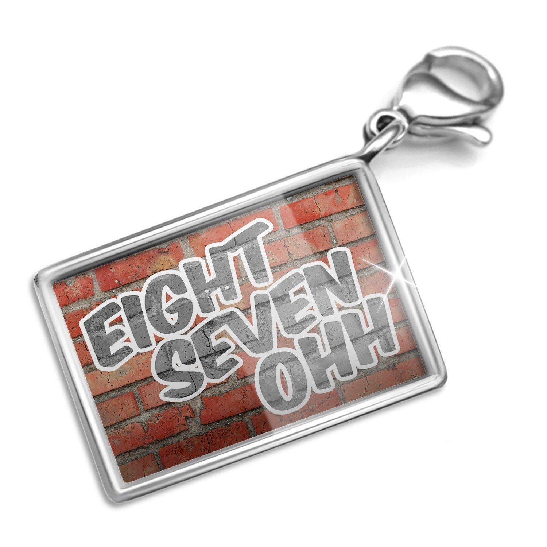 Get Quotations · Neonblond 870 Jonesboro, AR brick - Charm Lobster Clasp  clip on