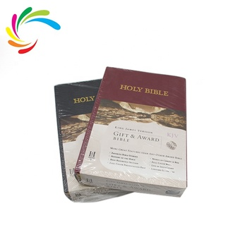 Wholesale Best Price Customized High Quality Hardcover Book Holy Bible Printing