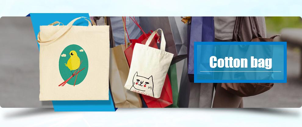 promoção de preço de fábrica saco de cordão de algodão preto