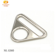 Hoge Kwaliteit Metal Richter Driehoek Swivel <span class=keywords><strong>Clip</strong></span> D Ring gesp