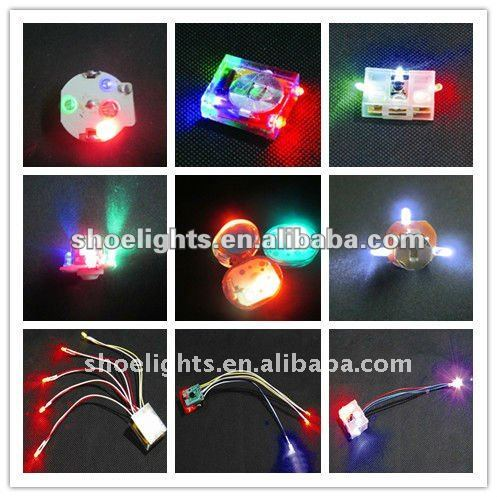 LED flasher for running light up shoes YX-8301