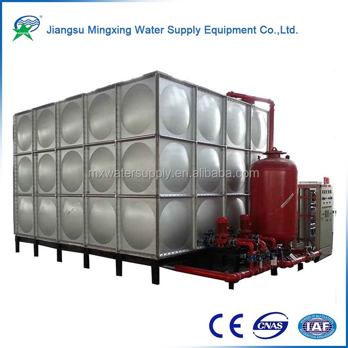 Hot selling products no-welding fiberglass oil tank