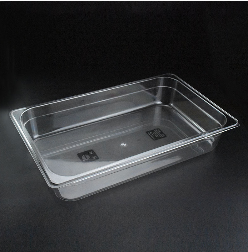 Full Size Food GN pan polycarbonate gastronorm container