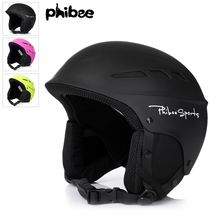 phibee Adult Child Snow Sports Professional Skating Skateboard Helmet S M L 3 Colors