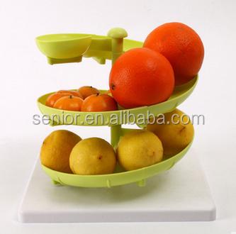 Multifunctional New Egg/fruit Holder Kitchen Plastic Storage Rack