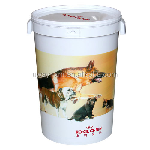 food grade material 15kg plastic pet food dog food container - Dog Food Containers