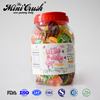 2019 New Item assorted fruit jelly in round jar