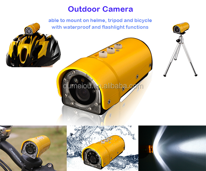 Waterproof Full HD 1080p Sport Action Camera