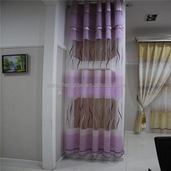 Blackout Window Pvc Plastic Transparent Door Curtains