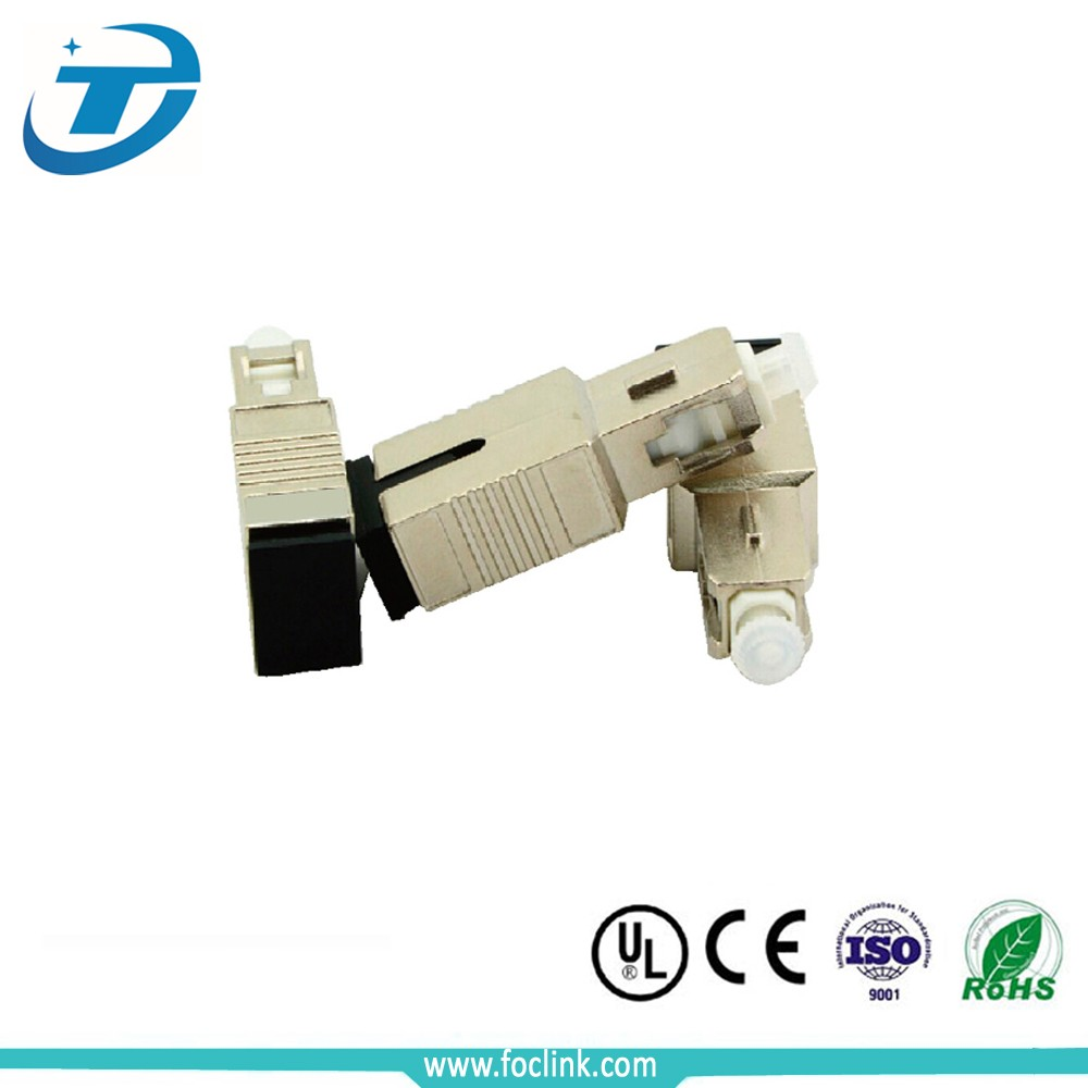 Metal Housing Female to Male Fiber 0db SC Optical Attenuator