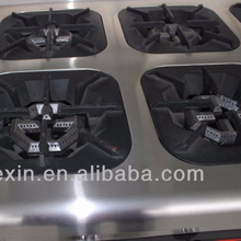 Chinese Gas style range with 4 burner& oven