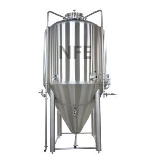 Customized High Pressurized Stainless Steel Beer Tank 4500L Conical Vessels for sale