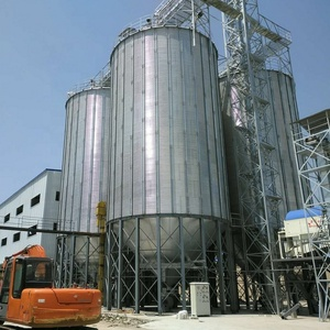 500ton paddy storage bolted steel silo prices