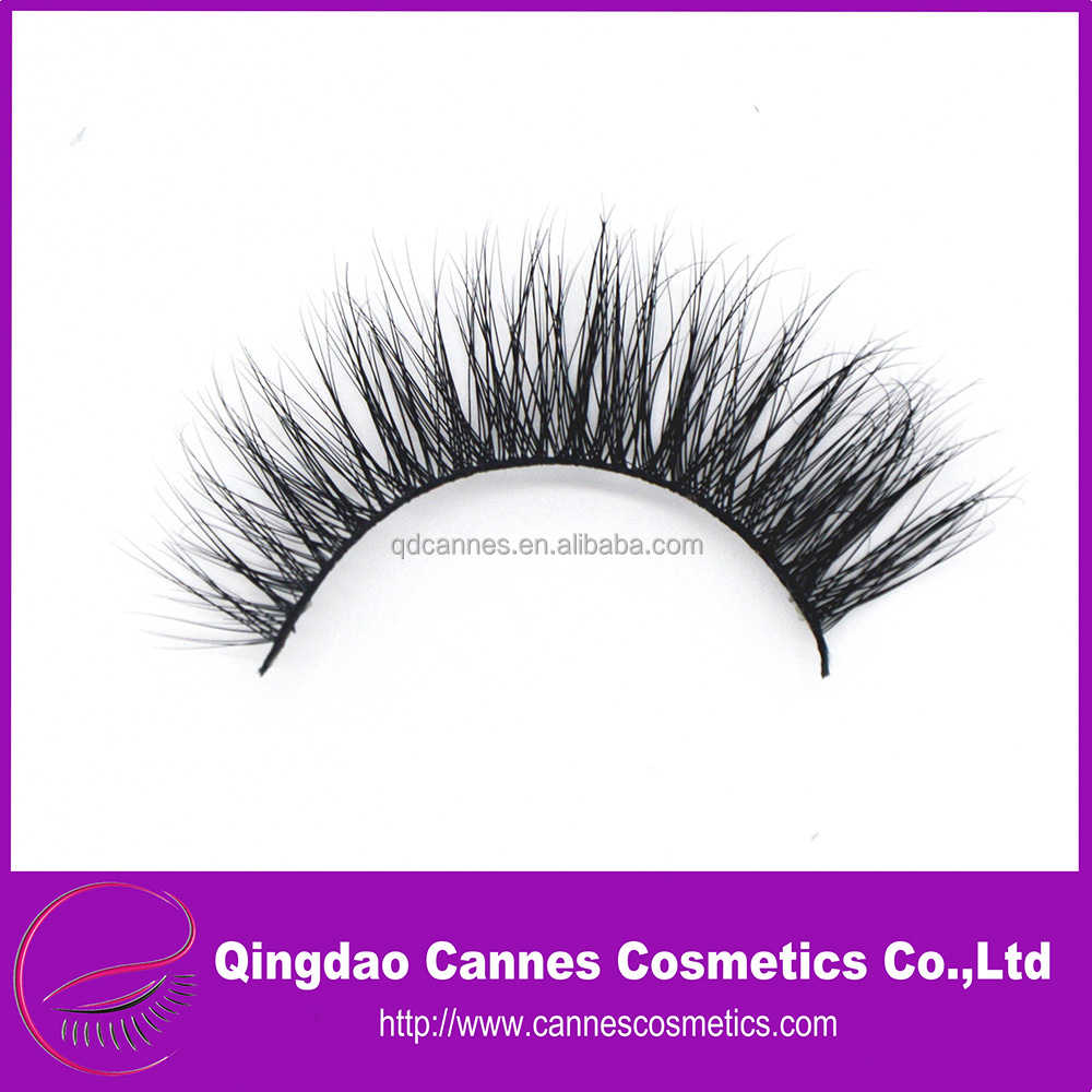 soft natual 3D mink lashes with private label