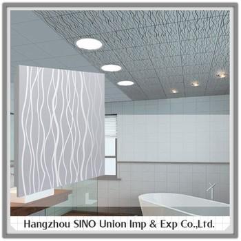 New Interior Lightweight Clip In Ceiling Board Low Cost Waterproof