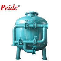 Remove impurities and organic matter sand filter system