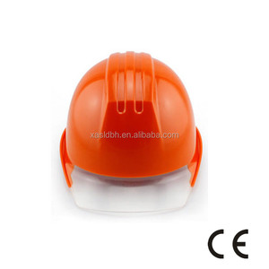 High quality wholesale new style full transparent brim hard hat