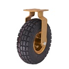 Inflatable 8 Inch 10 Inch Rigid & Swivel Industrial Rubber Tire Pneumatic Caster Wheel