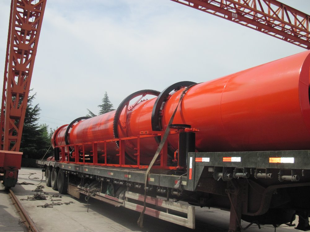 China Production Agricultural Wood Sawdust Rotary Drum Dryer ...