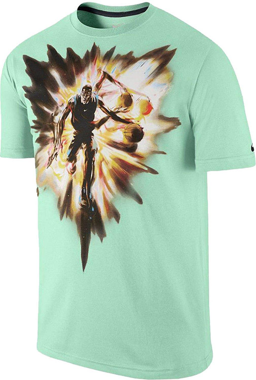 meet 35066 8e4e2 Get Quotations · Nike Men s KD Speed T-Shirt X-Large Arctic Green