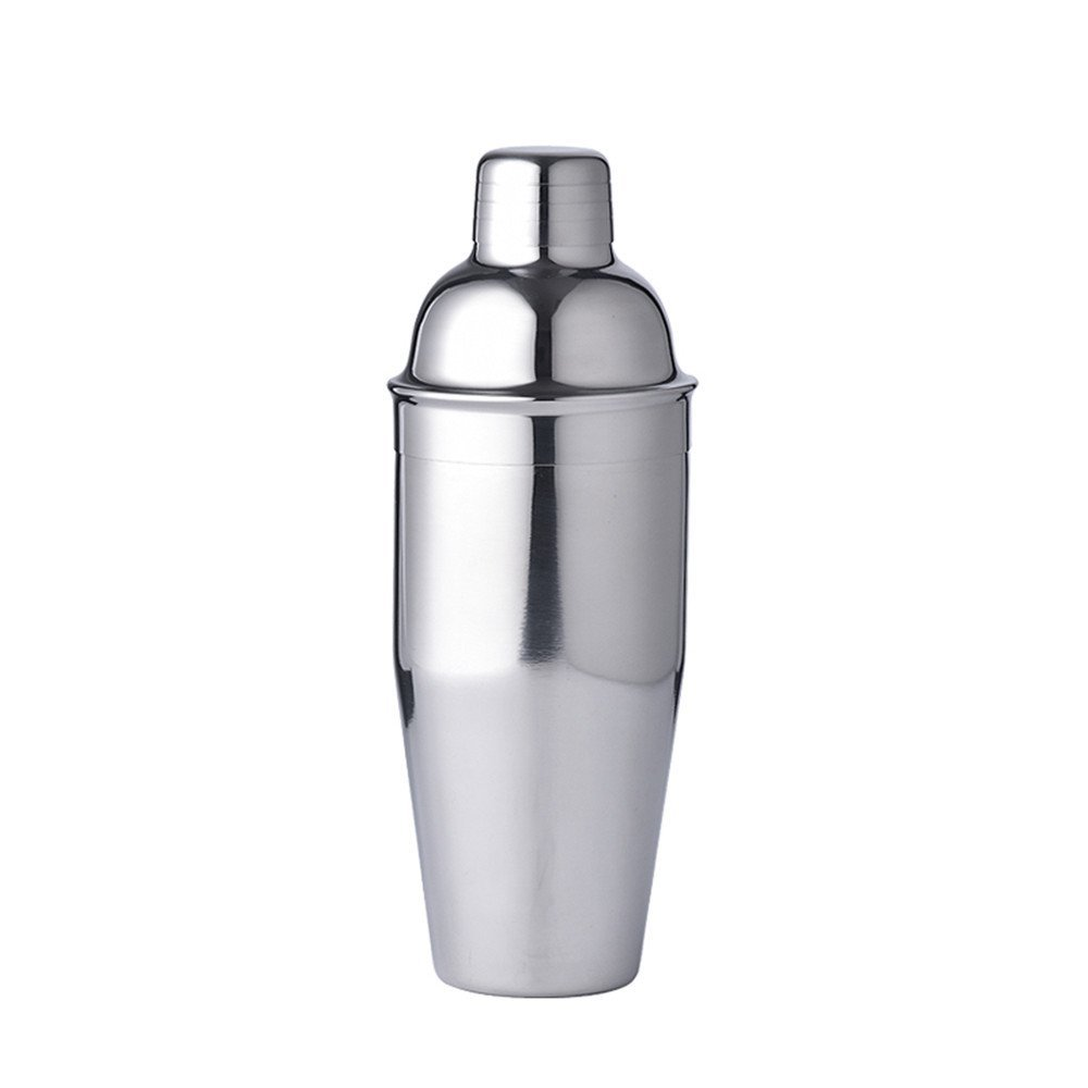 stainless steel cocktail shaker mixer with measurement