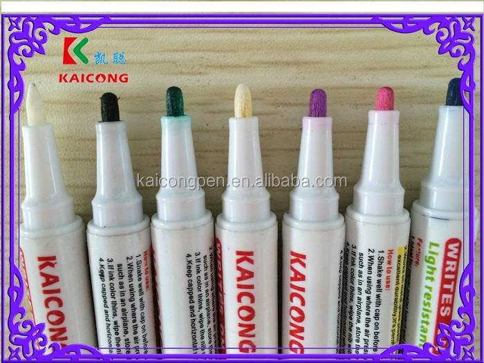1mm fine bullet tip oil based,permanent paint marker/Valve Action Paint marker /waterproof marker pen
