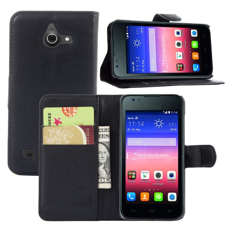 Factory Price Stand Wallet flip Cover Credit card flip case for Leagoo Shark 1