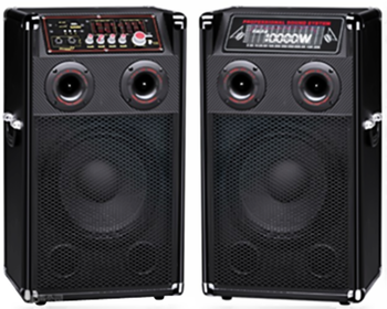 80w Wood 10 Inch Hi Fi Chinese Supplier Wireless Speakers For Stage With EQ