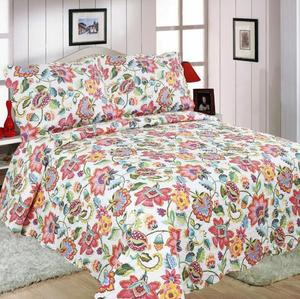 Cheap Embroidery Printed Microfiber Bedding Set Middle East