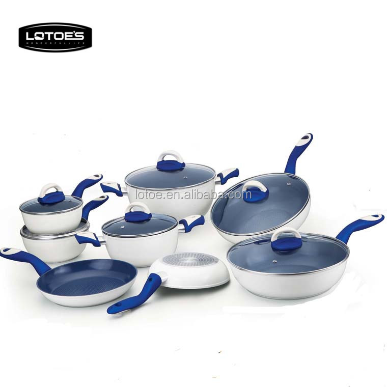Forged aluminum Cookware enamel cast iron cookware