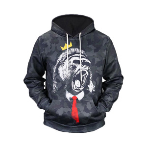 OEM Logo Printed Plain Pullover sublimation printing sweatshirt 3d hoodies