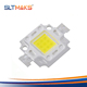 High power nature white Bridgelux 12v 10w led chip with 2 years warranty