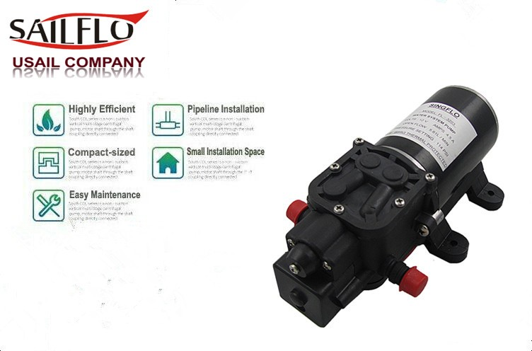 Sailflo 12V 4.3LPM 35PSI 12V Galley Electric Water Pump Tap Faucet ...