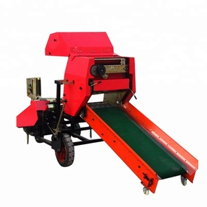 New products small farm straw bundling baler machines