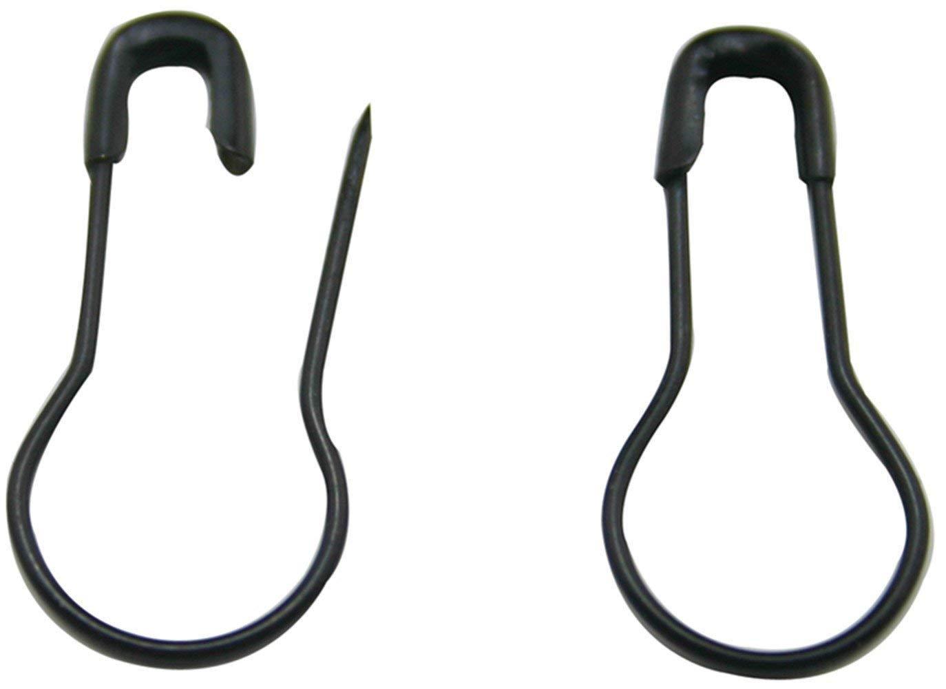 5-Pack Rescue Essentials Black Safety PINS 2