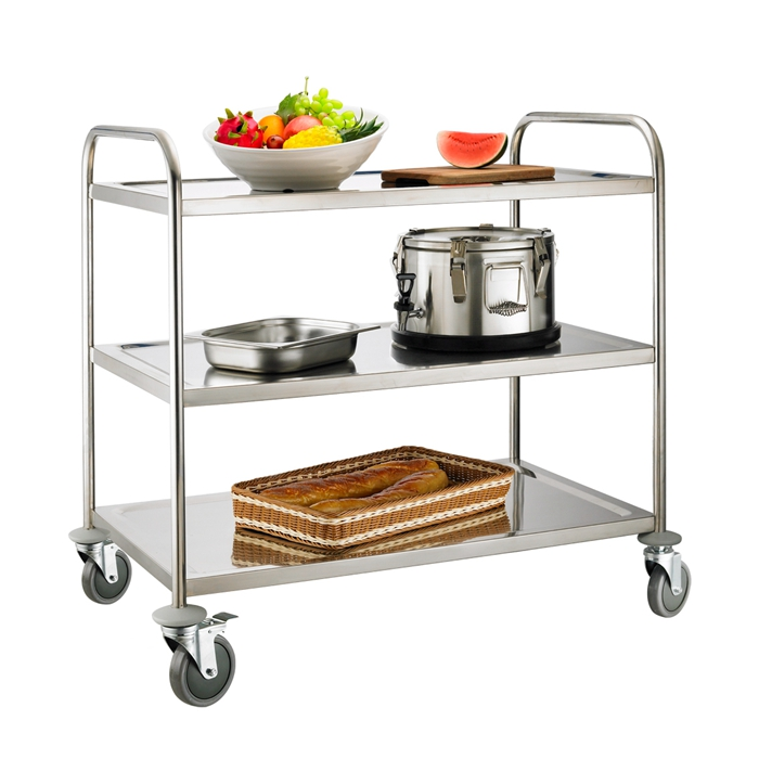 Heavybao new hotel room cart food type of service trolley for Hotel room service cart