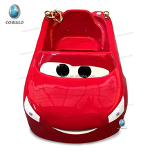 K-532C professional red cartoon kid's air bubble tub with shower car baby bathtub
