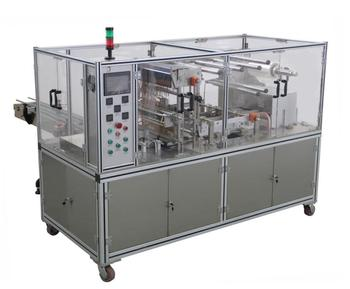 adjustable transparent film packing machine for medicine products