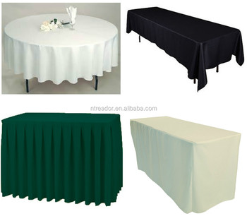 100 polyester skirts - Polyester Tablecloths