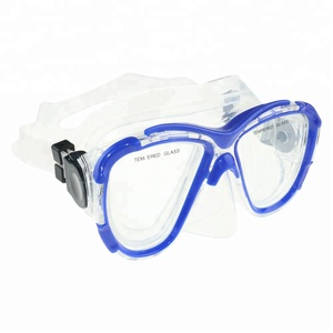 swim freediving spearfishing silicone Nearsight Prescription Optical Corrective Lenses snorkeling diving mask