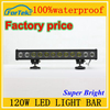 led offroad light bar 120W led light bar high quality wholesale off road high quality