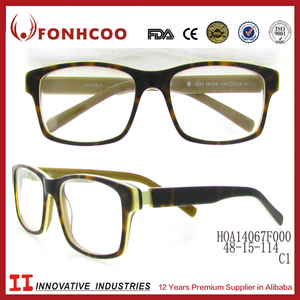 FONHCOO Korean Style School Children Full Rim Eyeglass Optical Frame
