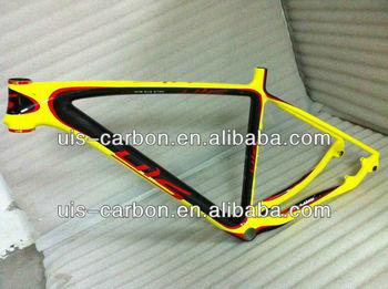 hot sale 29er carbon mountain bike frame uis carbon frame 3k12kud - Mountain Bike Frames For Sale
