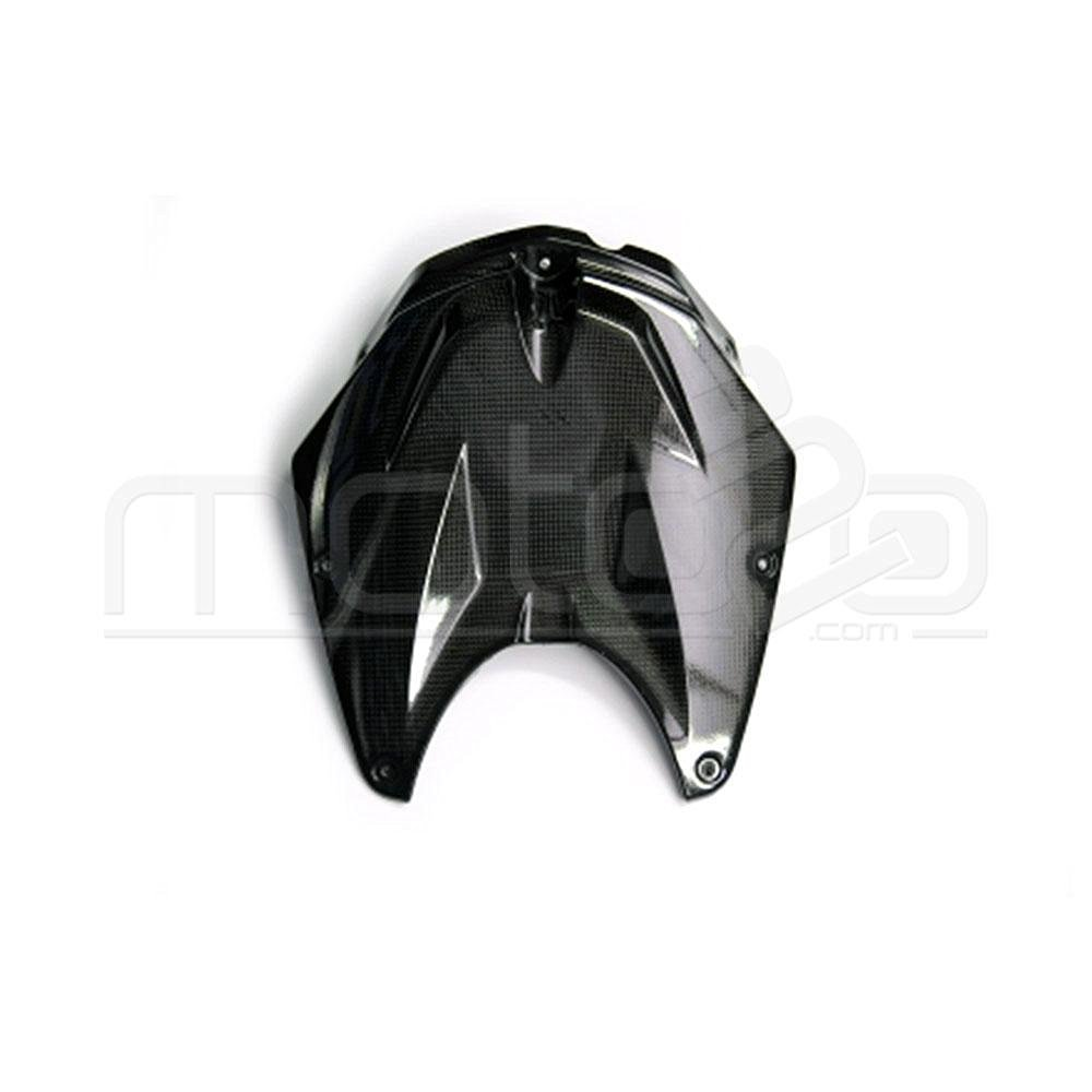LighTech CART1129 Polished Carbon Tank Cover