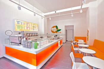 Café-bar Dekoration Modernen Möbeln Kleinen Bartheke Saftbar Design ...